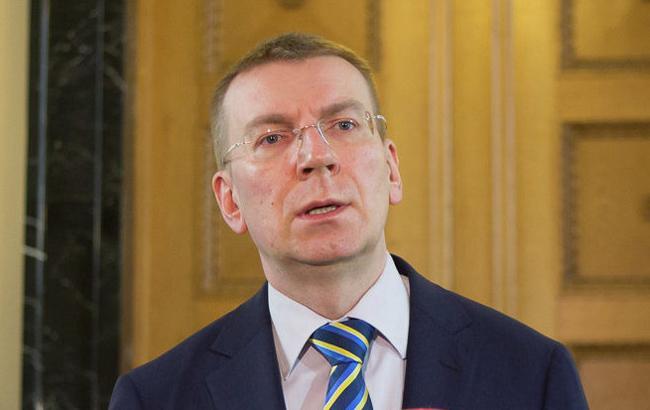 """Глава МЗС Латвії заявив про загрозу """"Північного потоку-2"""" для трансатлантичних відносин"""