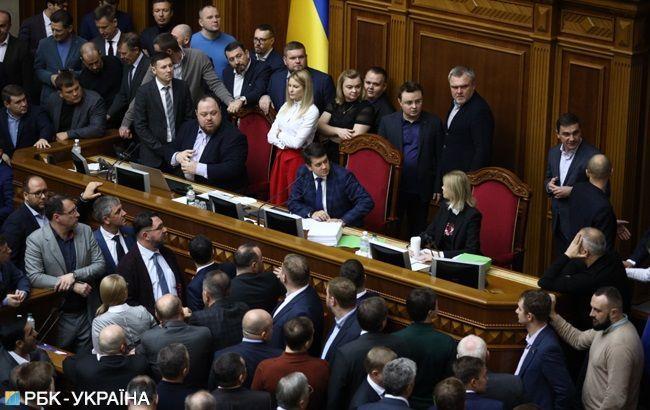 Рада розгляне близько 20 законопроектів у четвер