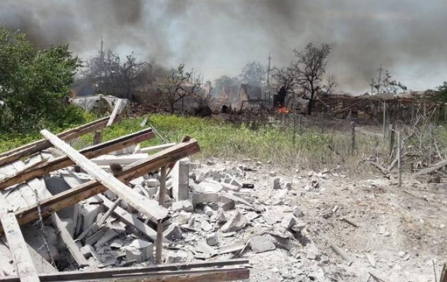 В Станиці Луганській через обстріл бойовиків припинена роботу райдержадміністрація, - Москаль