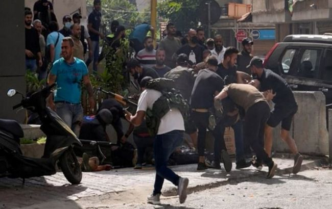 У Бейруті на акції протесту сталася стрілянина. Українців серед жертв немає, - МЗС