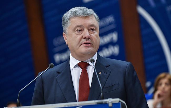Фото: Порошенко задекларировал еще 1 млн гривен (prezident.gov.ua)