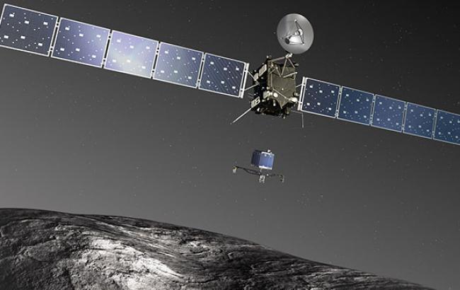 Космічний модуль вперше приземлився на поверхні комети