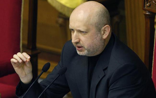 Турчинов предложил включить в президиум Рады на первое заседание 6 нардепов