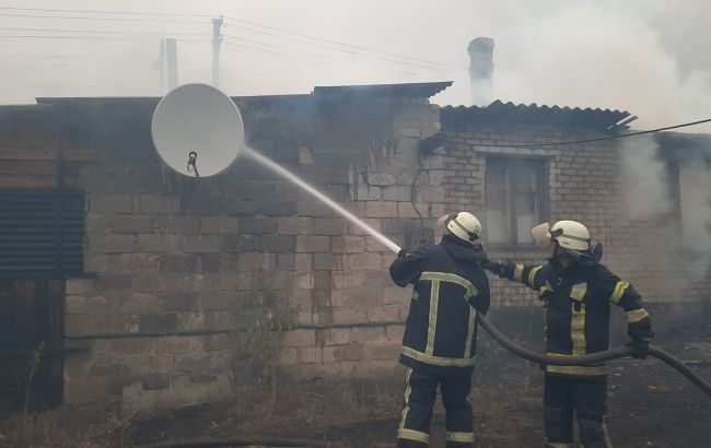 Пожары в Луганской области: ОГА должна подготовить расчеты по ликвидации последствий