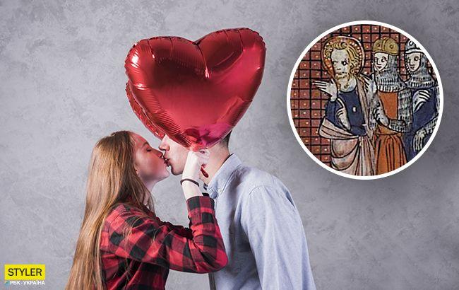 Святой Валентин никого не венчал: в ПЦУ опровергли миф о Дне влюбленных