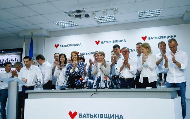 Тимошенко: вопрос о составе коалиции — к команде президента