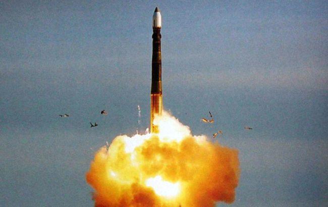 Россия провела испытательный пуск баллистической ракеты