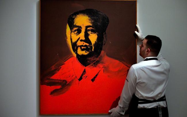 Фото: Портрет Мао Цзэдуна