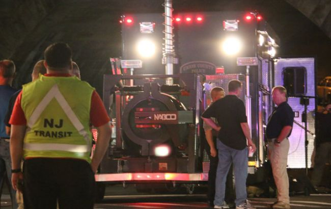 Фото: взрыв в Нью Джерси