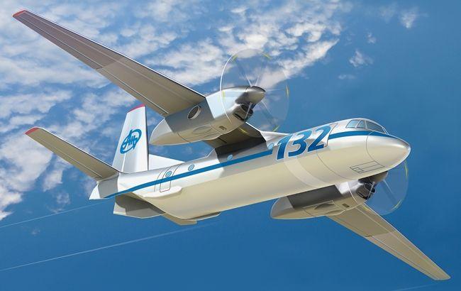 Фото: проект украинско-саудовского многоцелевого транспортного самолета АН-132