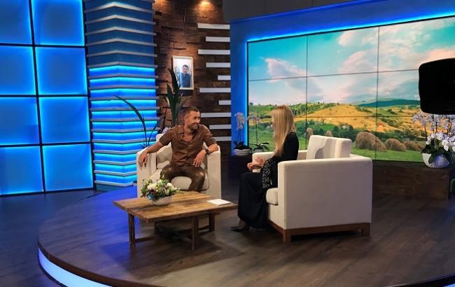 Сергій Бабкін на шоу ОЛЯ. Фото: Прес-служба