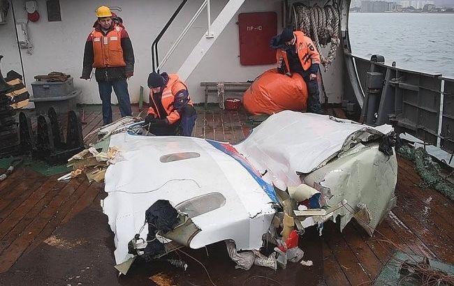 У Росії назвали причину катастрофи Ту-154 під Сочі