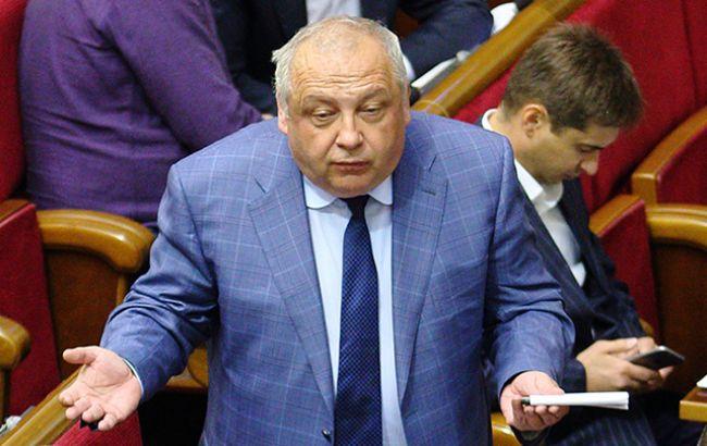 Фото: глава фракции БПП Игорь Грынив