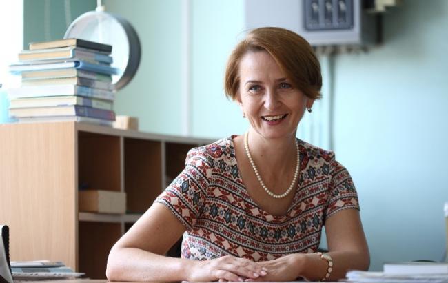 Фото: Ольга Антоненко вже третій рік працює в Києві (Віталій Носач, РБК-Украна)