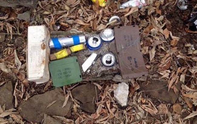 В Донецькій області виявили сховище з протитанковими та протипіхотними мінами