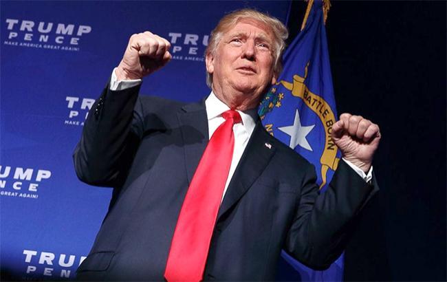 Фото: Дональд Трамп лідирує в 3 штатах