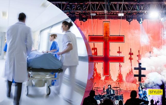 Известный рокер попал в больницу прямо со сцены: появилось видео несчастного случая