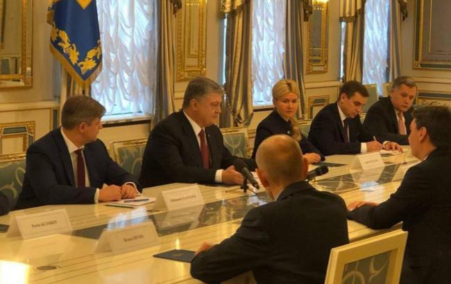 Фото: Светличная подписала соответствующие соглашения сегодня в АПУ (пресс-служба Харьковской ОГА)