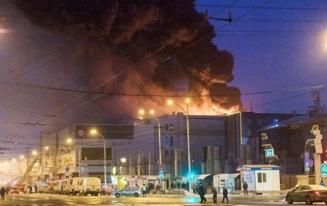 МЧС: Пожар вТЦ «Зимняя вишня» вКемерово ликвидирован