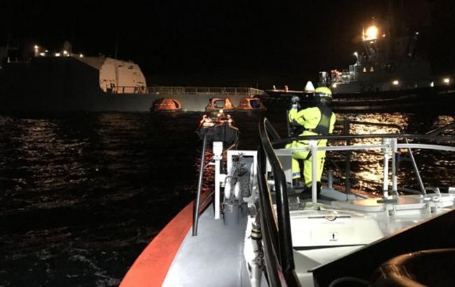 У Норвегії фрегат повертався з навчань НАТО і зіткнувся з танкером, є постраждалі