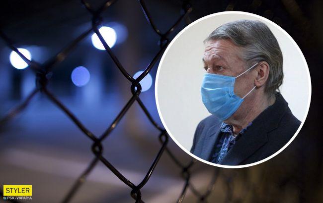Мог покончить с собой: Ефремов рассказал о первой ночи в тюрьме