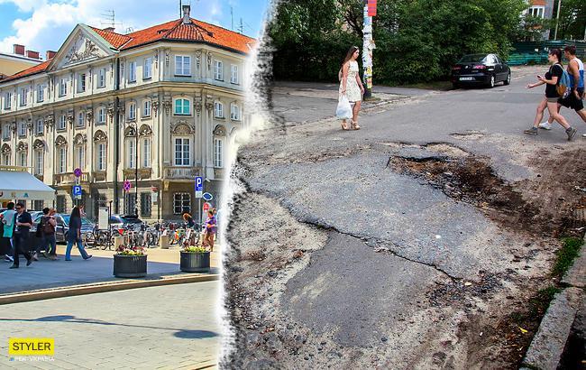 """""""Почувствуйте разницу"""": Сравнение дорог и благоустройства в городах Украины и Польши"""