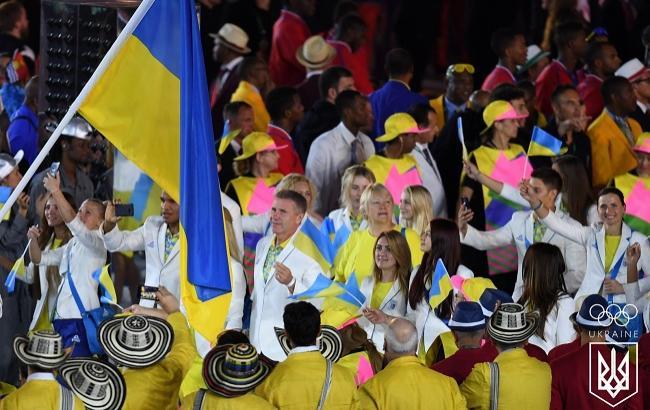 Фото: Збірна України на Олімпіаді-2016 в Ріо