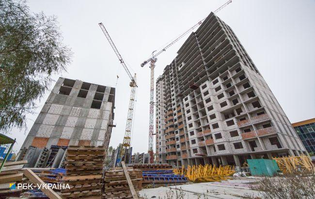 Строительство жилья в Украине выросло на четверть