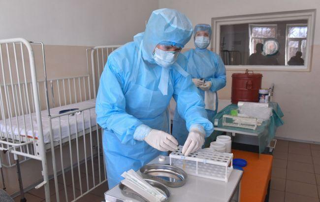 Три области Украины имеют высокие показатели COVID-госпитализаций