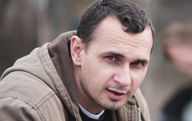 День рождения Олега Сенцова: в Киеве проходит акция в поддержку политзаключенного (фоторепортаж)