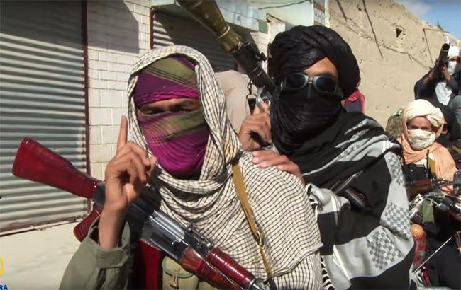 """Фото: бойовики """"Талібану"""" (YouTube screenshot)"""