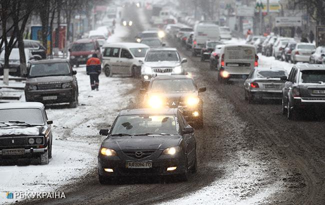 Погода на сегодня: в Украине снег, температура от -9 до +4