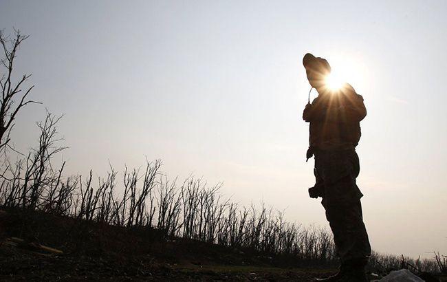 В среду на Донбассе погиб один украинский военный