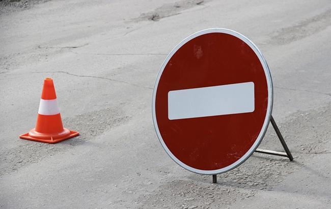 В Киеве на Владимирском проезде завтра запретят движение транспорта