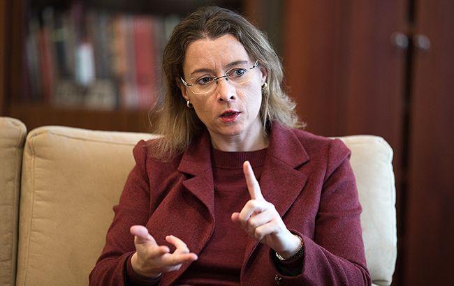 Посол Изабель Дюмон не видит альтернативы минским соглашениям (фото - Виталий Носач, РБК-Украина)