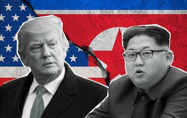 Фото: Дональд Трамп и Ким Чен Ын (коллаж РБК-Украина)