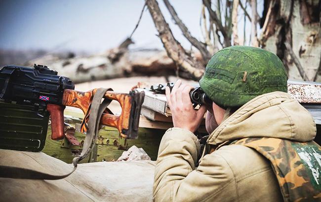 Фото: боевик (фото: facebook.com/Игорь Иванов)