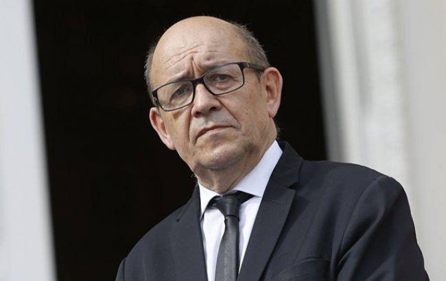 Фото: глава МЗС Франції Жан-Ів Ле Дріан (diplomatie.gouv.fr)