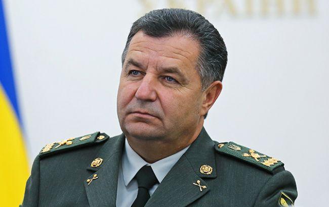 Полторак заявив про відсутність загрози наступу бойовиків на Донбасі