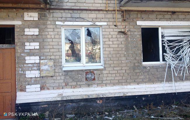 Фото: населений пункт Мар'їнка на Донбас (РБК-Україна)