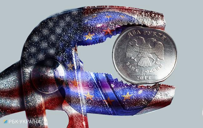 Фото: санкции (коллаж РБК-Украина)