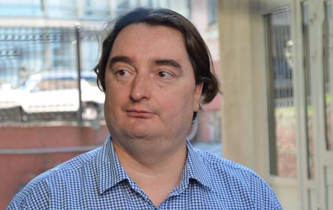 Фото: затримання Гужви, на думку захисту, відбулося з порушеннями (facebook.com/Елена Скидан)