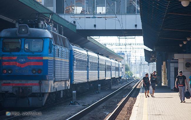 """На залізничному вокзалі у Києві встановлено пункт митного контролю пасажирів поїзду """"чотирьох столиць"""""""