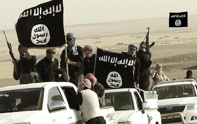 Фото: бойовики ИГИЛ (скріншот youtube.com televisionOrient)