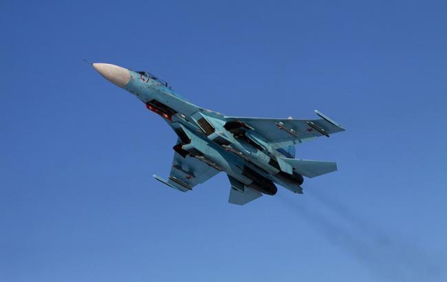 Фото: фінські військові заявили про другому Су-27