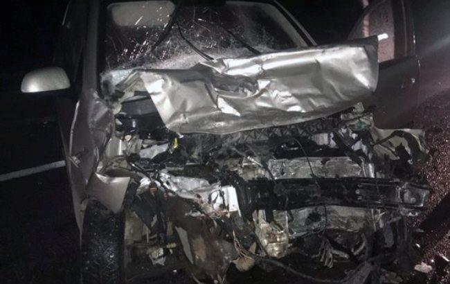 В ДТП с автобусом в Харьковской области пострадали 7 человек