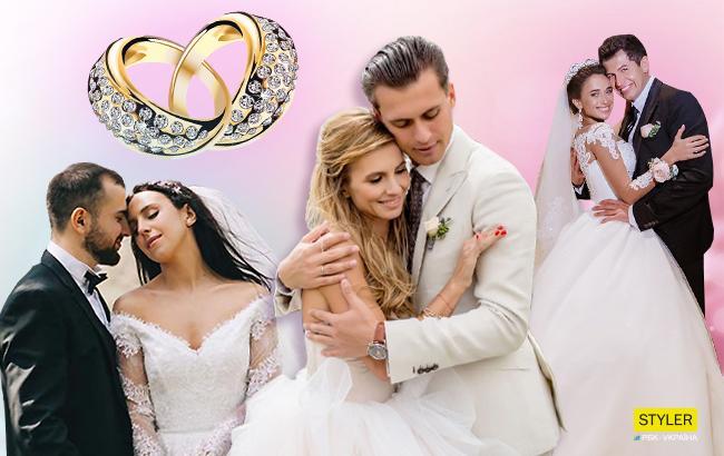 Самые громкие свадьбы 2017 года: Джамала и Бекир, Mr & Mrs Скичко, Андрей и Юлия Джеджула