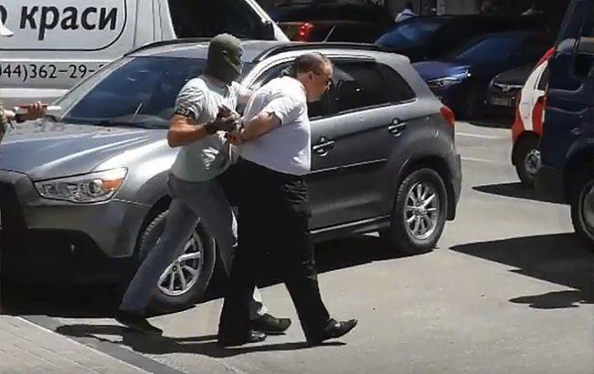 СБУ оприлюднила відео затримання організатора замаху на вбивство Бабченка