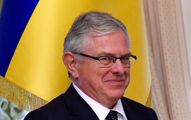 Фото: посол Королевства Дании в Украине Рубен Медсен (twitter.com)