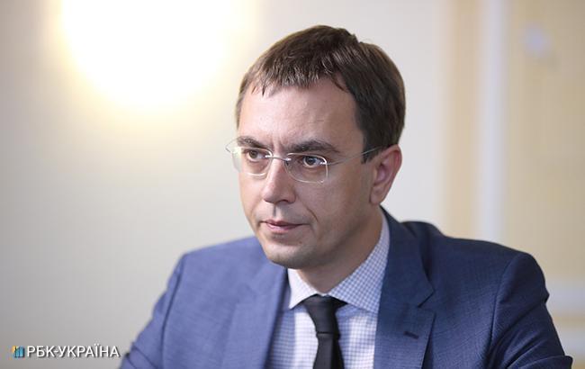 Омелян: Україна може припинити залізничне сполучення зРосією